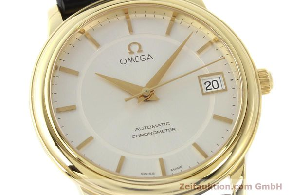 Used luxury watch Omega De Ville 18 ct gold automatic Kal. 1120  | 141399 02
