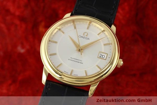 Used luxury watch Omega De Ville 18 ct gold automatic Kal. 1120  | 141399 04