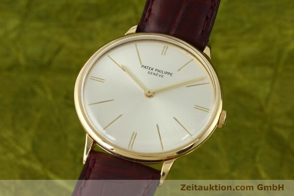 Used luxury watch Patek Philippe Calatrava 18 ct gold manual winding Kal. 23-300 Ref. 3468  | 141400 04