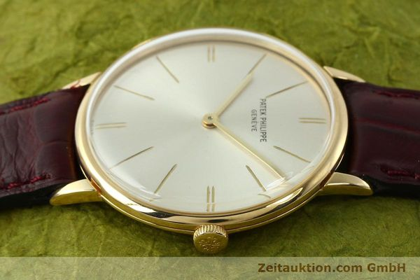 Used luxury watch Patek Philippe Calatrava 18 ct gold manual winding Kal. 23-300 Ref. 3468  | 141400 05
