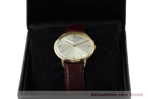 Used luxury watch Patek Philippe Calatrava 18 ct gold manual winding Kal. 23-300 Ref. 3468  | 141400 07