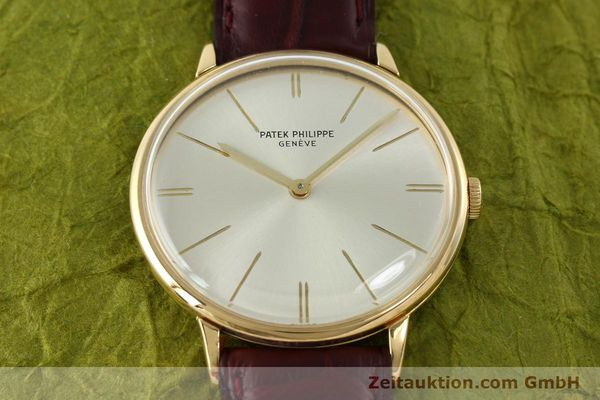 Used luxury watch Patek Philippe Calatrava 18 ct gold manual winding Kal. 23-300 Ref. 3468  | 141400 14