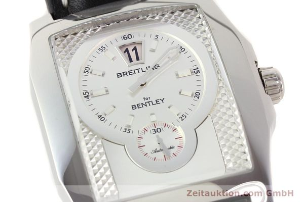 Used luxury watch Breitling Bentley steel automatic Kal. B28 ETA 2892A2 Ref. A28362  | 141402 02