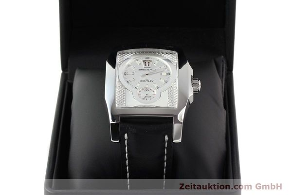 Used luxury watch Breitling Bentley steel automatic Kal. B28 ETA 2892A2 Ref. A28362  | 141402 07