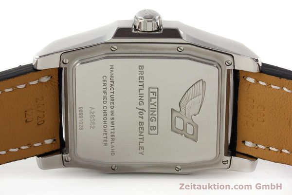 Used luxury watch Breitling Bentley steel automatic Kal. B28 ETA 2892A2 Ref. A28362  | 141402 09