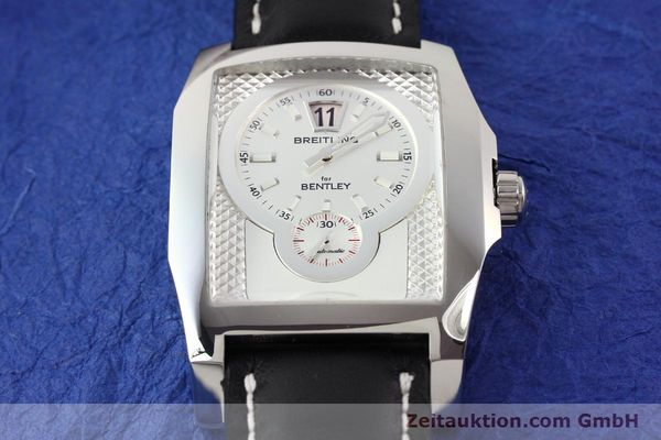 Used luxury watch Breitling Bentley steel automatic Kal. B28 ETA 2892A2 Ref. A28362  | 141402 14