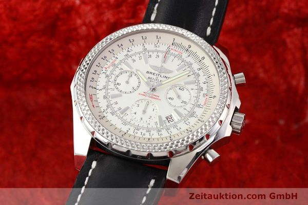 Used luxury watch Breitling Bentley steel automatic Kal. B25 ETA 2892A2 Ref. A25362  | 141404 04