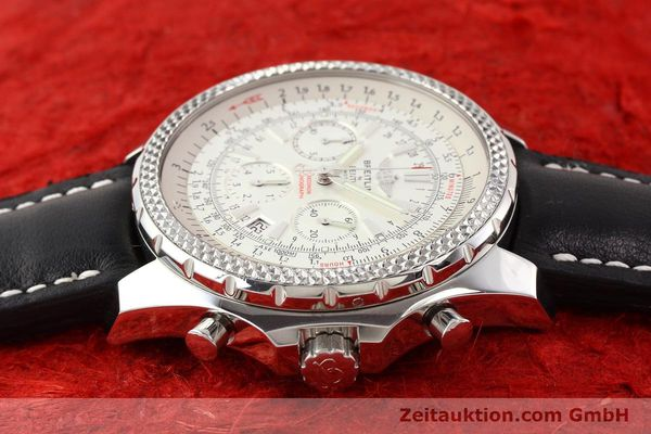 Used luxury watch Breitling Bentley steel automatic Kal. B25 ETA 2892A2 Ref. A25362  | 141404 05