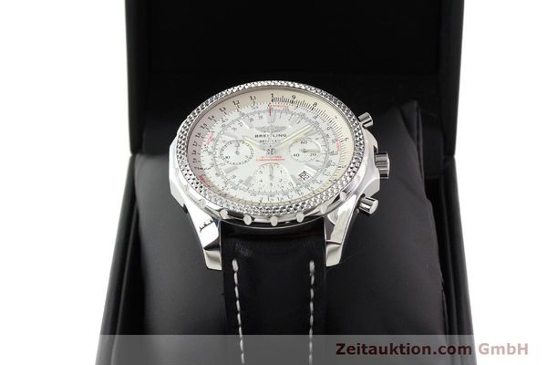 Used luxury watch Breitling Bentley steel automatic Kal. B25 ETA 2892A2 Ref. A25362  | 141404 07