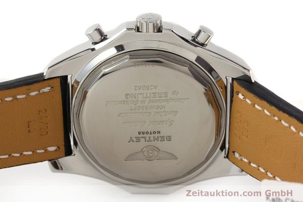 Used luxury watch Breitling Bentley steel automatic Kal. B25 ETA 2892A2 Ref. A25362  | 141404 09