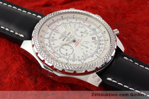 Used luxury watch Breitling Bentley steel automatic Kal. B25 ETA 2892A2 Ref. A25362  | 141404 13