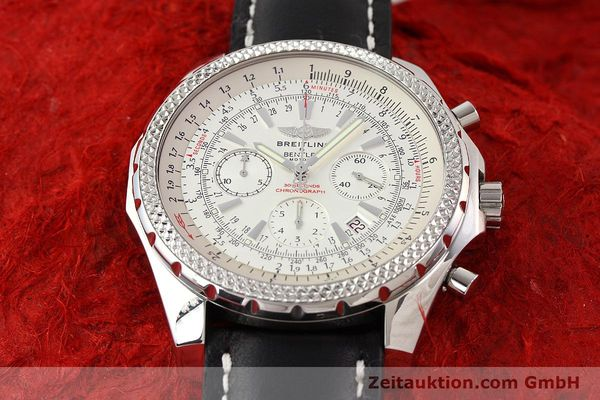 Used luxury watch Breitling Bentley steel automatic Kal. B25 ETA 2892A2 Ref. A25362  | 141404 14