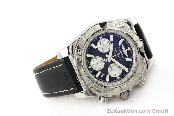 Used luxury watch Breitling Chronomat 44 chronograph steel automatic Kal. B01 Ref. AB0110  | 141405 03