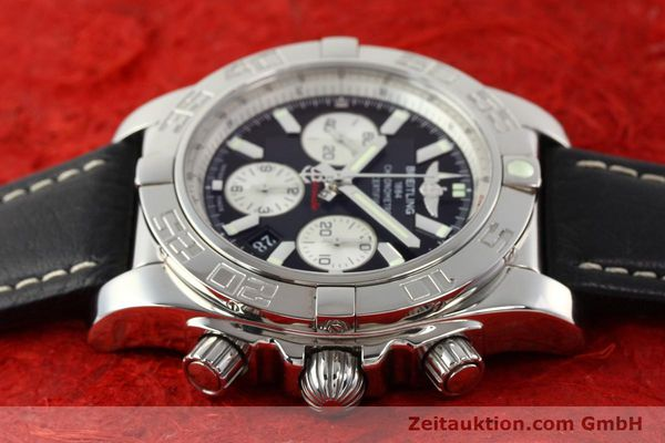 Used luxury watch Breitling Chronomat 44 chronograph steel automatic Kal. B01 Ref. AB0110  | 141405 05