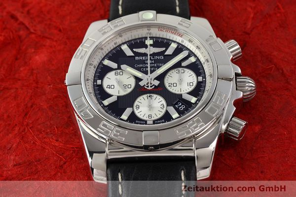 Used luxury watch Breitling Chronomat 44 chronograph steel automatic Kal. B01 Ref. AB0110  | 141405 14
