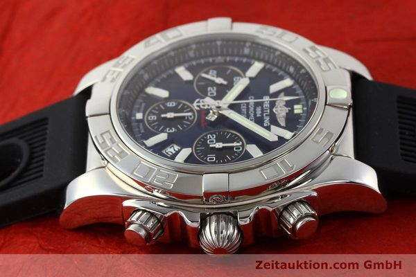 Used luxury watch Breitling Chronomat 44 chronograph steel automatic Kal. B01 Ref. AB0110  | 141407 05