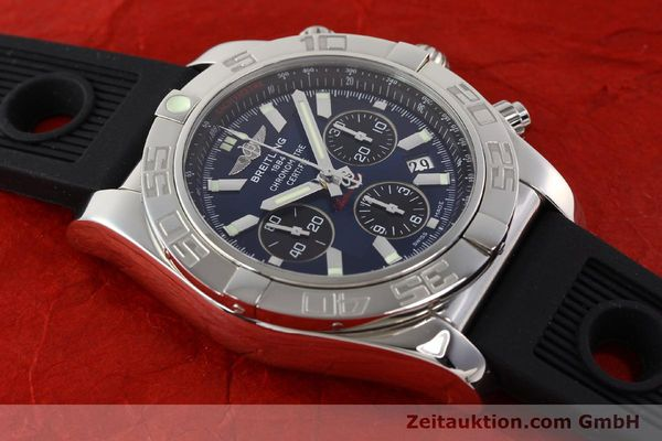 Used luxury watch Breitling Chronomat 44 chronograph steel automatic Kal. B01 Ref. AB0110  | 141407 14