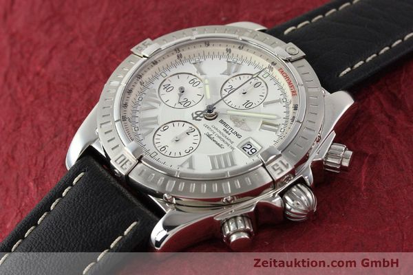 Used luxury watch Breitling Crosswind chronograph steel automatic Kal. B13 ETA 7750 Ref. A13356  | 141412 01