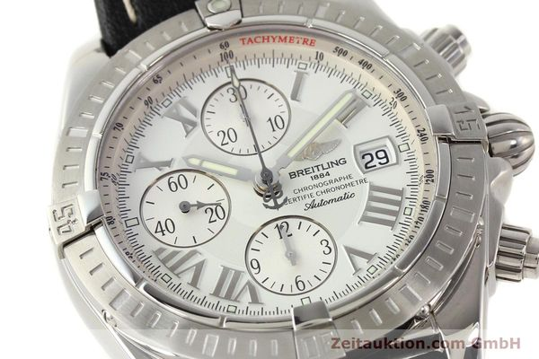 Used luxury watch Breitling Crosswind chronograph steel automatic Kal. B13 ETA 7750 Ref. A13356  | 141412 02