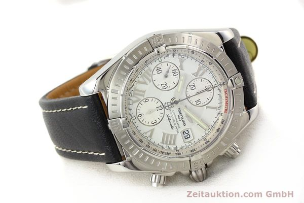Used luxury watch Breitling Crosswind chronograph steel automatic Kal. B13 ETA 7750 Ref. A13356  | 141412 03