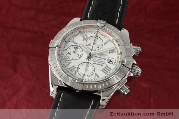 Used luxury watch Breitling Crosswind chronograph steel automatic Kal. B13 ETA 7750 Ref. A13356  | 141412 04