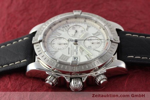 Used luxury watch Breitling Crosswind chronograph steel automatic Kal. B13 ETA 7750 Ref. A13356  | 141412 05