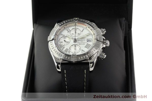 Used luxury watch Breitling Crosswind chronograph steel automatic Kal. B13 ETA 7750 Ref. A13356  | 141412 07