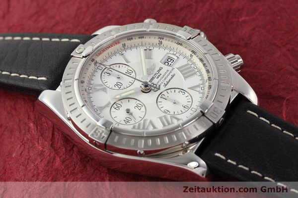 Used luxury watch Breitling Crosswind chronograph steel automatic Kal. B13 ETA 7750 Ref. A13356  | 141412 13