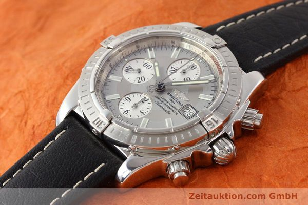 Used luxury watch Breitling Crosswind chronograph steel automatic Kal. B13 ETA 7750 Ref. A13356  | 141413 01