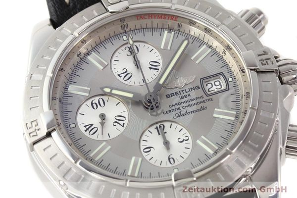 Used luxury watch Breitling Crosswind chronograph steel automatic Kal. B13 ETA 7750 Ref. A13356  | 141413 02