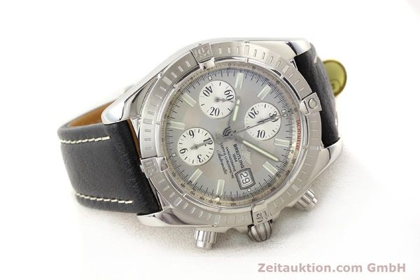 Used luxury watch Breitling Crosswind chronograph steel automatic Kal. B13 ETA 7750 Ref. A13356  | 141413 03