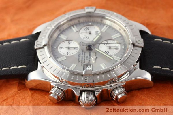 Used luxury watch Breitling Crosswind chronograph steel automatic Kal. B13 ETA 7750 Ref. A13356  | 141413 05