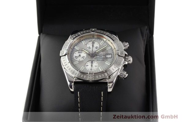 Used luxury watch Breitling Crosswind chronograph steel automatic Kal. B13 ETA 7750 Ref. A13356  | 141413 07
