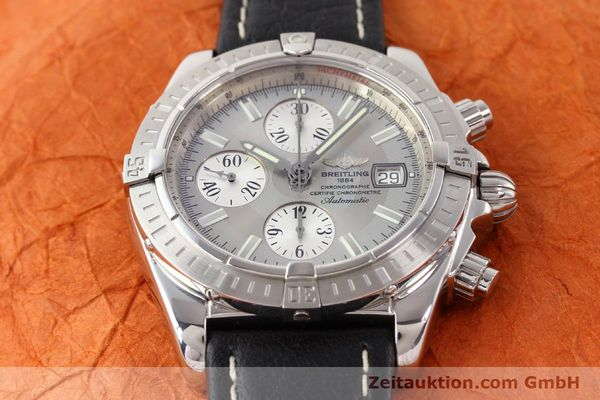 Used luxury watch Breitling Crosswind chronograph steel automatic Kal. B13 ETA 7750 Ref. A13356  | 141413 14