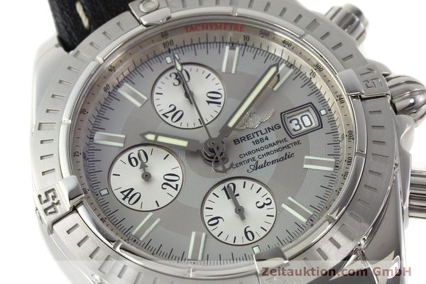 Used luxury watch Breitling Crosswind chronograph steel automatic Kal. B13 ETA 7750 Ref. A13356  | 141414 02