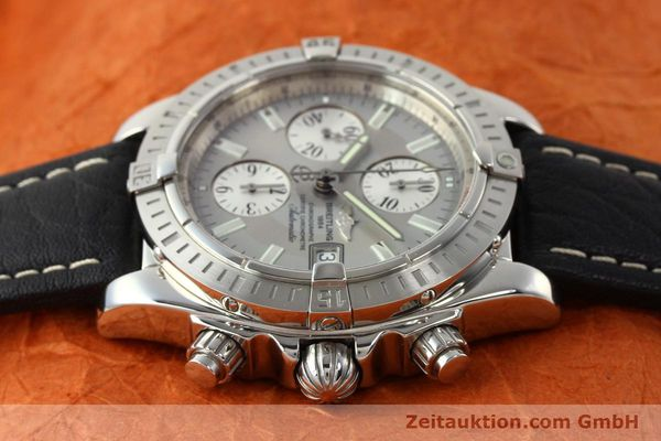 Used luxury watch Breitling Crosswind chronograph steel automatic Kal. B13 ETA 7750 Ref. A13356  | 141414 05
