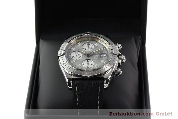 Used luxury watch Breitling Crosswind chronograph steel automatic Kal. B13 ETA 7750 Ref. A13356  | 141414 07