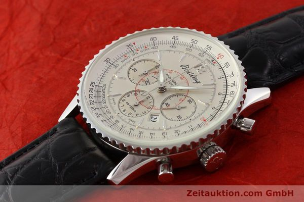 Used luxury watch Breitling Montbrillant chronograph steel automatic Kal. B41 ETA 2892A2 Ref. A41030  | 141415 01