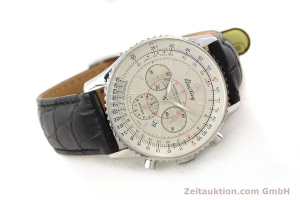 Used luxury watch Breitling Montbrillant chronograph steel automatic Kal. B41 ETA 2892A2 Ref. A41030  | 141415 03