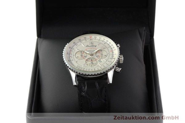 Used luxury watch Breitling Montbrillant chronograph steel automatic Kal. B41 ETA 2892A2 Ref. A41030  | 141415 07