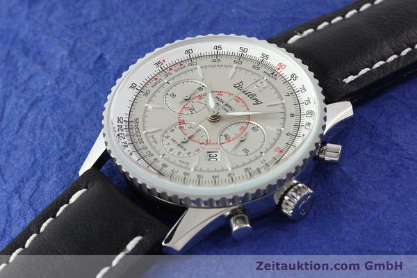 Used luxury watch Breitling Montbrillant chronograph steel automatic Kal. B41 ETA 2892A2 Ref. A41030  | 141416 01