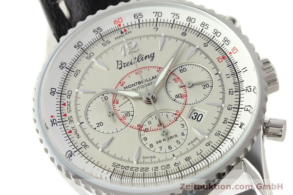 Used luxury watch Breitling Montbrillant chronograph steel automatic Kal. B41 ETA 2892A2 Ref. A41030  | 141416 02