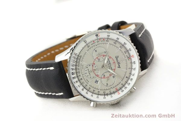Used luxury watch Breitling Montbrillant chronograph steel automatic Kal. B41 ETA 2892A2 Ref. A41030  | 141416 03