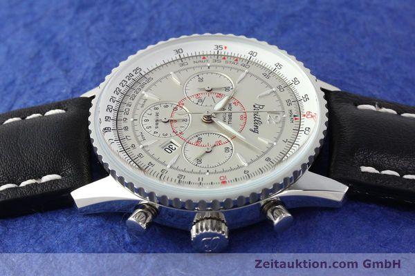 Used luxury watch Breitling Montbrillant chronograph steel automatic Kal. B41 ETA 2892A2 Ref. A41030  | 141416 05