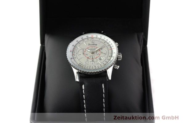 Used luxury watch Breitling Montbrillant chronograph steel automatic Kal. B41 ETA 2892A2 Ref. A41030  | 141416 07