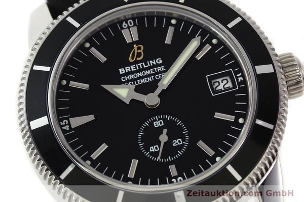 Used luxury watch Breitling Superocean steel automatic Kal. B37 ETA 2895-2 Ref. A37320  | 141418 02