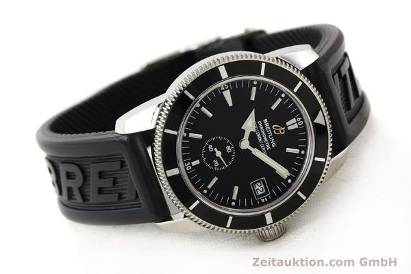 Used luxury watch Breitling Superocean steel automatic Kal. B37 ETA 2895-2 Ref. A37320  | 141418 03