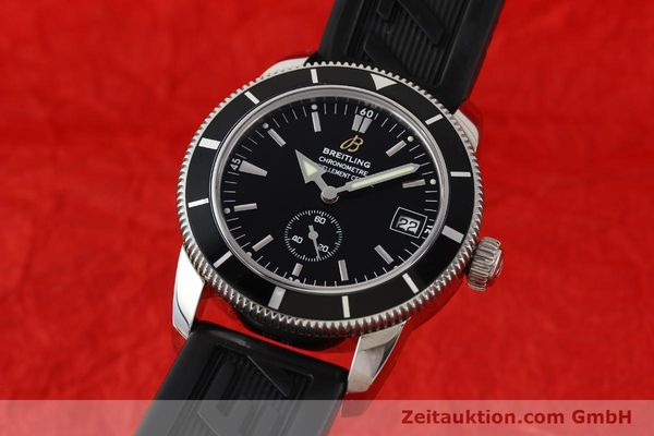 Used luxury watch Breitling Superocean steel automatic Kal. B37 ETA 2895-2 Ref. A37320  | 141418 04
