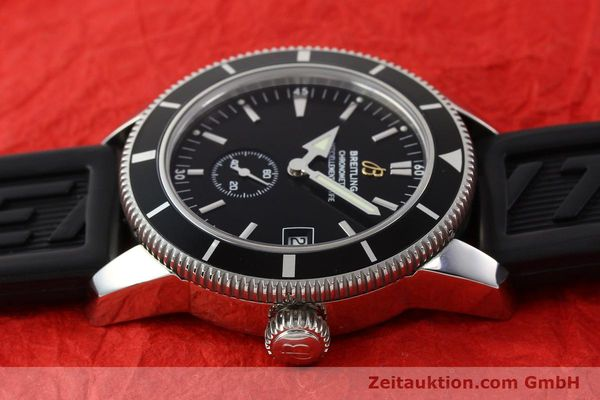 Used luxury watch Breitling Superocean steel automatic Kal. B37 ETA 2895-2 Ref. A37320  | 141418 05