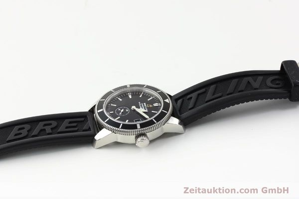 Used luxury watch Breitling Superocean steel automatic Kal. B37 ETA 2895-2 Ref. A37320  | 141418 12